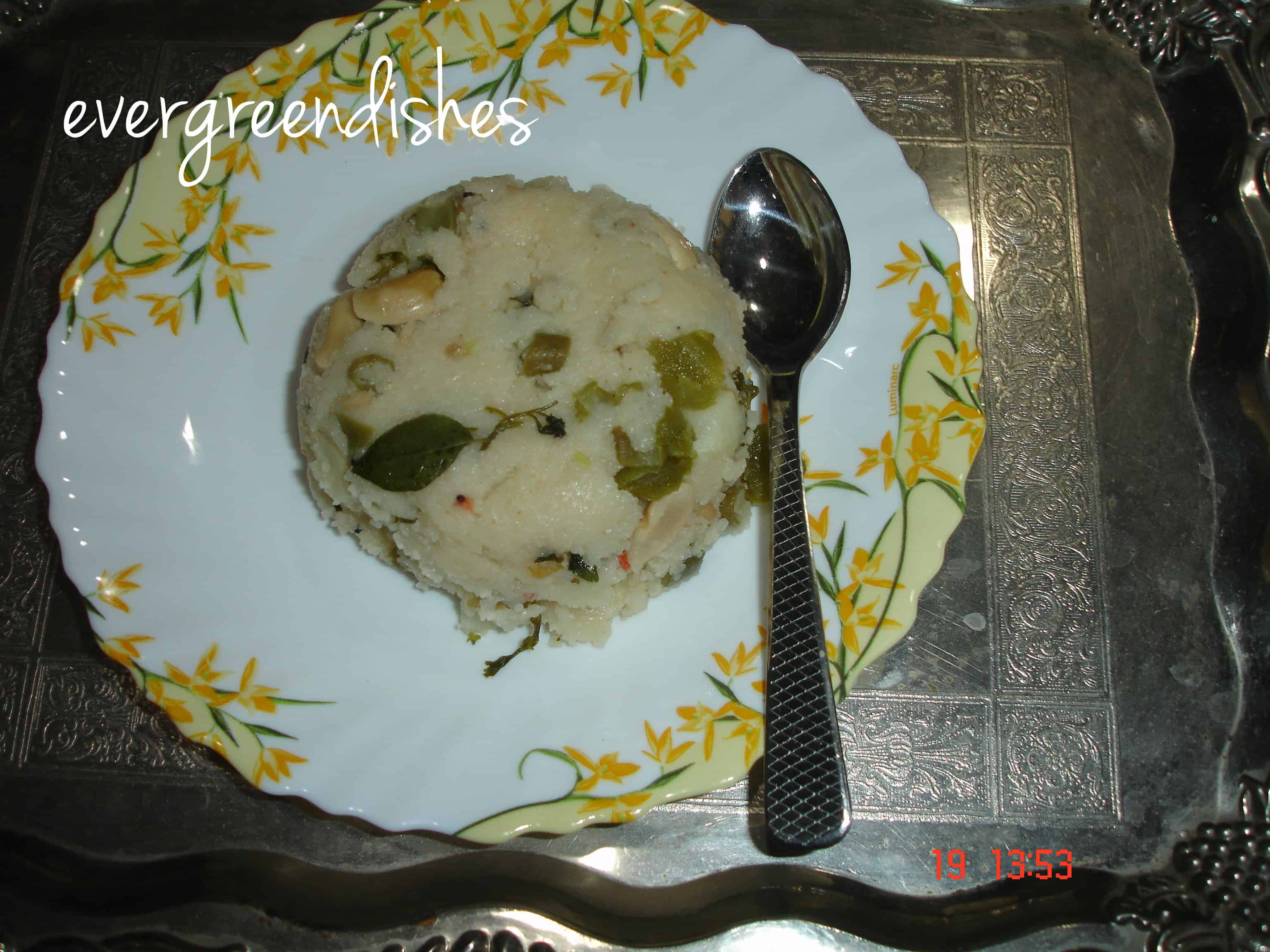 upma | Ever Green Dishes