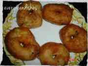 recipe image  Wada (urad dal) wada