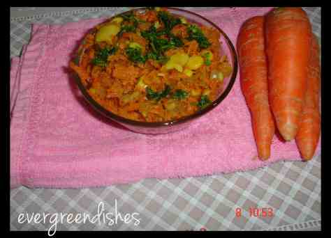 Healthy Carrot Corn Stir Fry