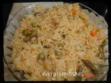 Tomato rice  15 lunch box ideas Tomato rice ready 300x225