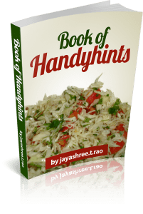 book of handyhints  Puffed rice balls aka Gujarati Mamra na ladoo Book of Handyhints 00 201x300