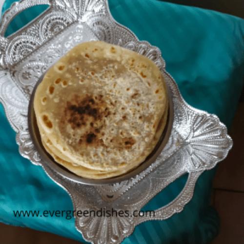 Shenga Holige / Peanut Sweet Pancake
