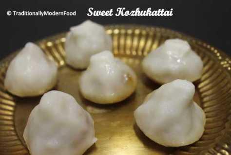 sweet kozhukattai