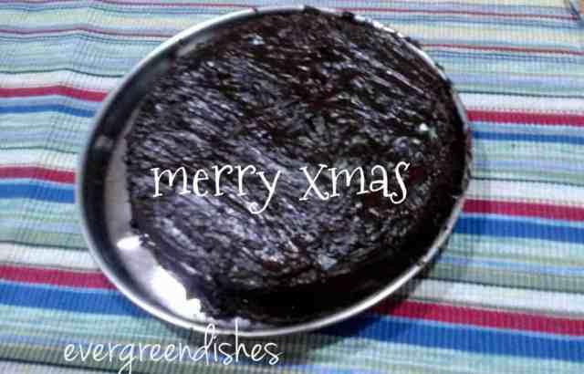 chocolate cake with ganache  Chocolate cake with ganache for X mas cc with ganache