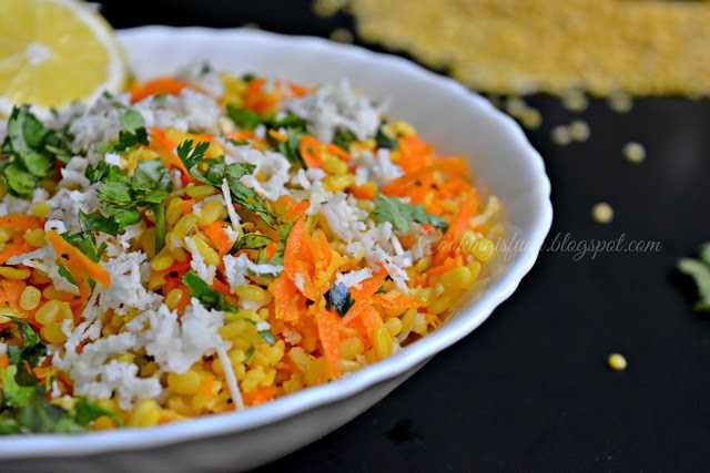 moongdal salad  Ugadi special moongdal salad