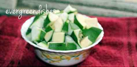 mango pieces