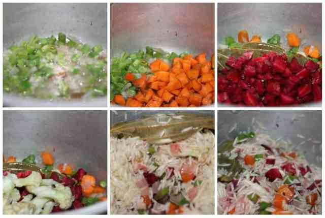 cooking in steps soya chunks pulav Soya chunks pulav soya chunks pulav6