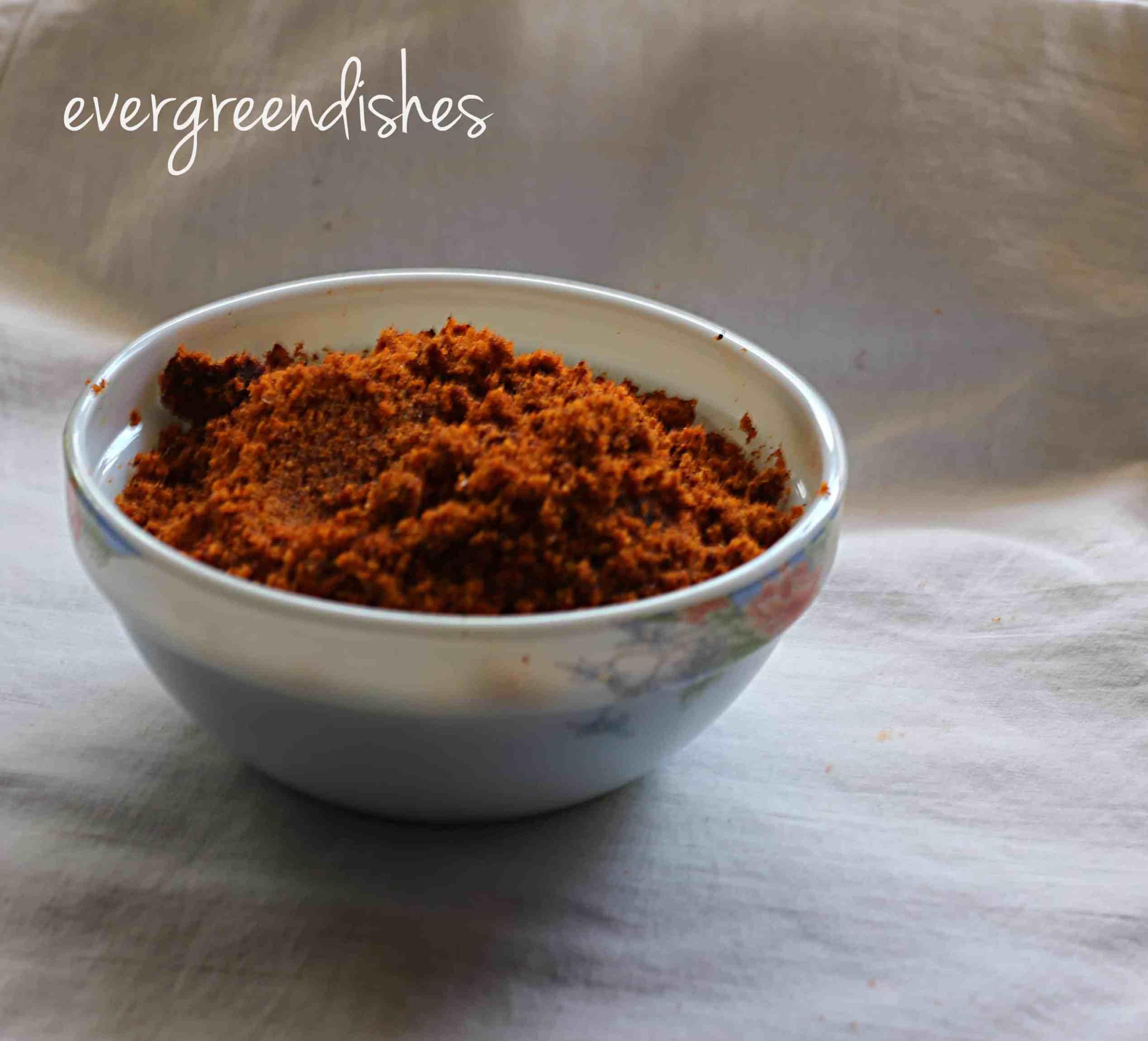 Garlic chutney powder
