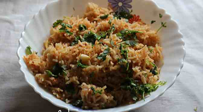 Spanish rice with chipotle adobado