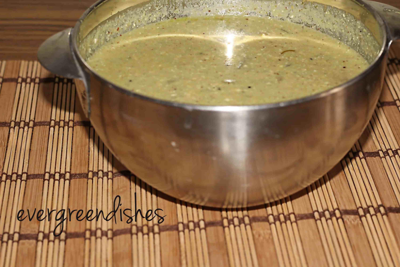Majjige huli, south indian yoghurt curry