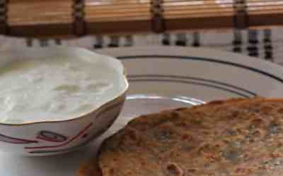 Mint paratha, pudina paratha in steps