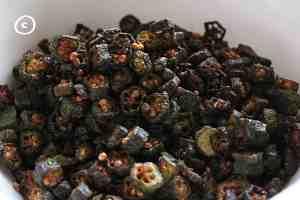fried bhindi