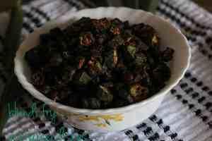 bhindi fry tasty bhindi fry/ ladies finger Tasty Bhindi Fry | okra fry bhindi fry7 300x200