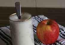 apple milkshake