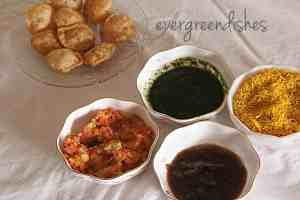 ingredients for sev puri