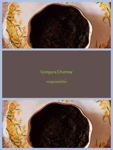 Gongura chutney