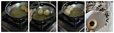 frying of puri