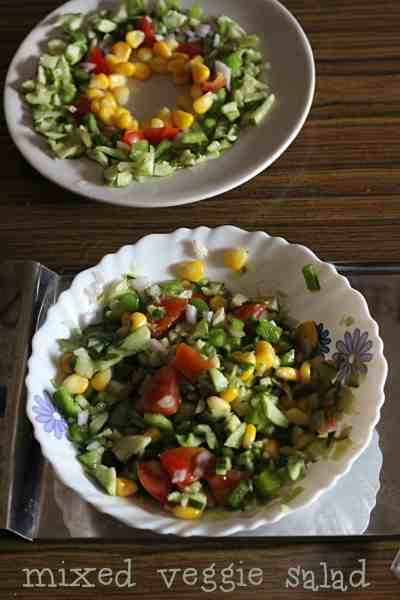 mixed vegetable salad  Mixed Vegetable Salad | healthy eating mixed veggie salad2 200x300