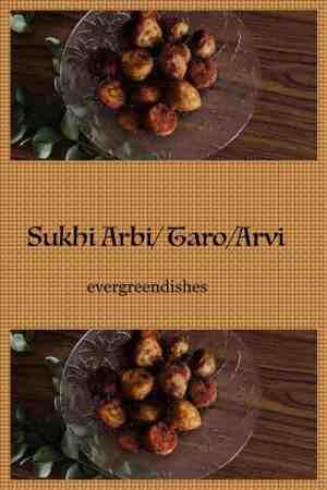 sukhi arbi/ taro/arvi