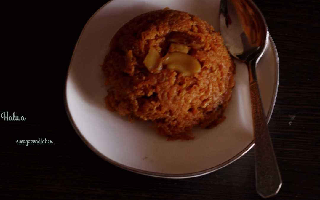 Carrot Halwa with condensed milk