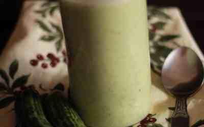 Cucumber smoothie | summer treats