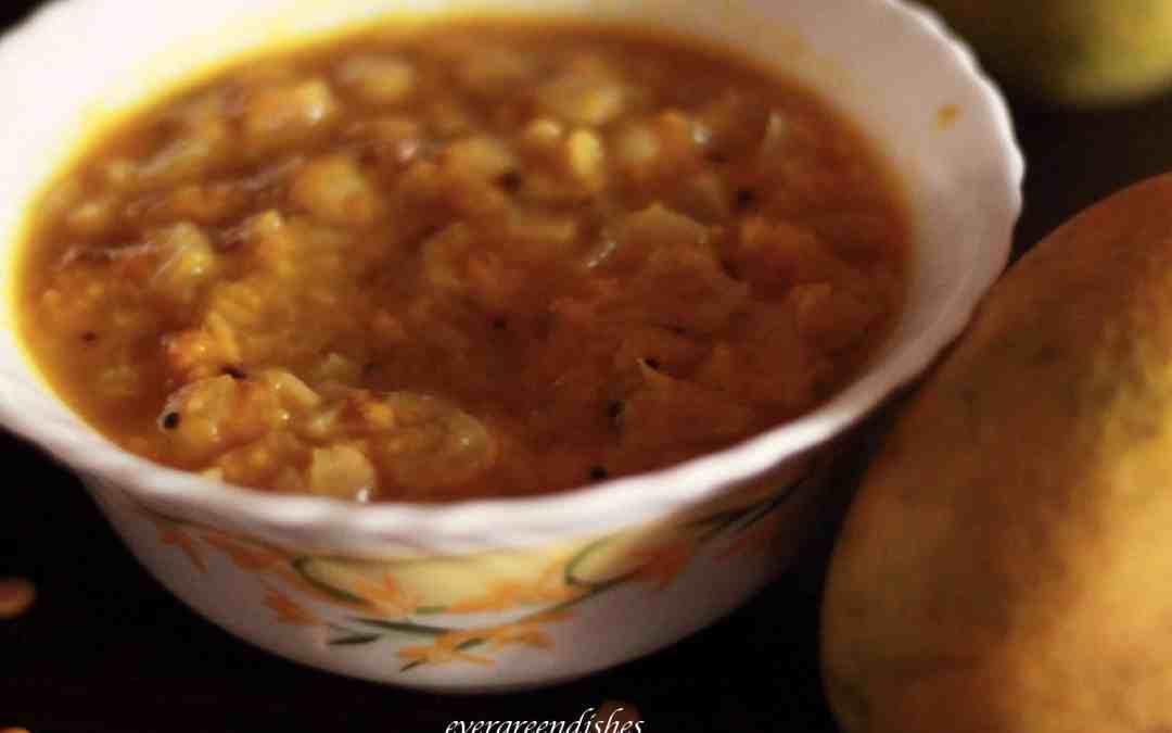 Ambua mango dish/ Himachal cuisine