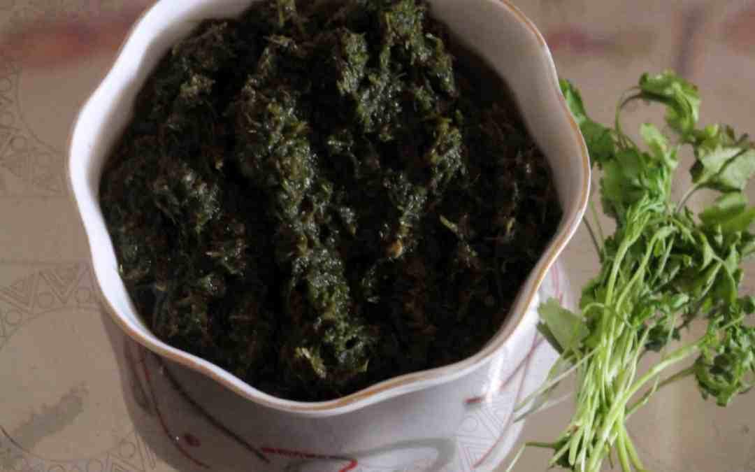 How to make tasty green chutney