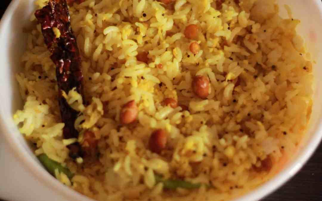 Raw Mango Rice / Mavina kayi chitranna