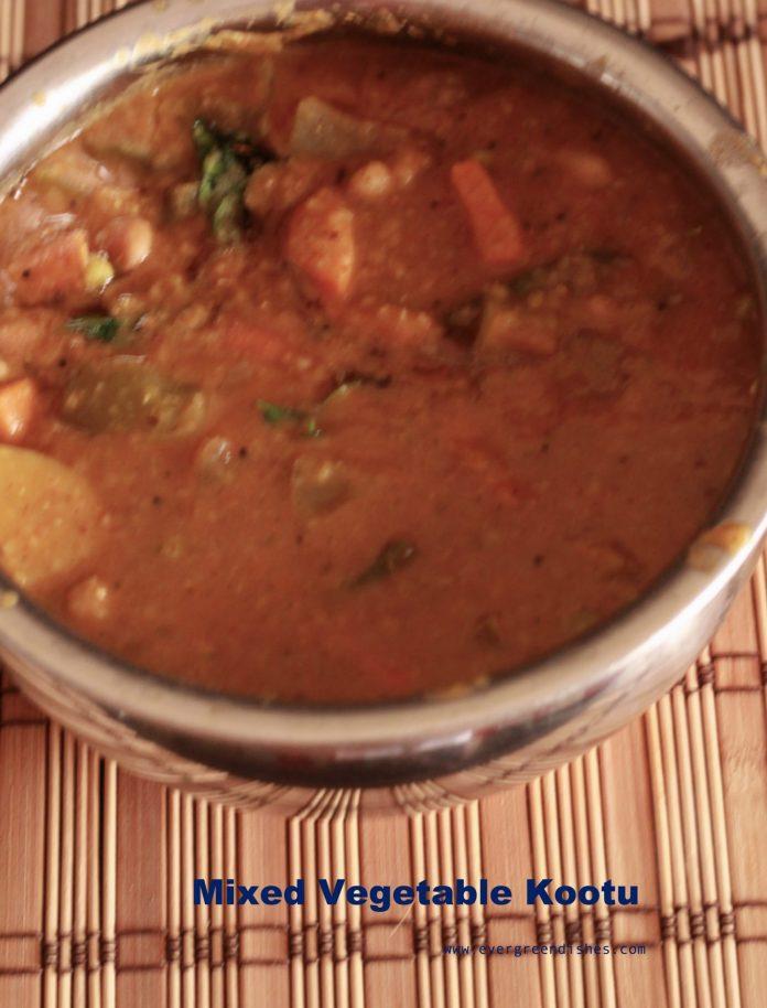 mixed vegetable kootu