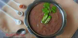 Ragi Khichu Guest Post
