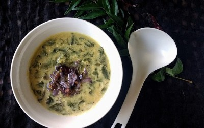Drumstick Leaves Dal with Coconut | Guest Post Series