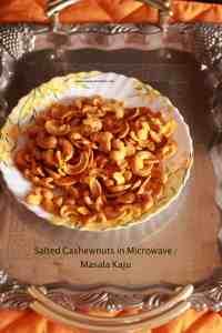 salted cashew nut / masala kaju