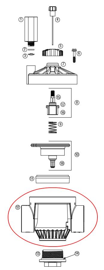 Rain Bird ESP-LXBASIC Basic Sprinkler Controller 12