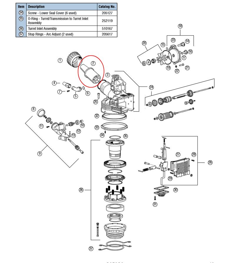 Hunter I2C-800M 8-Station Outdoor Sprinkler Controller