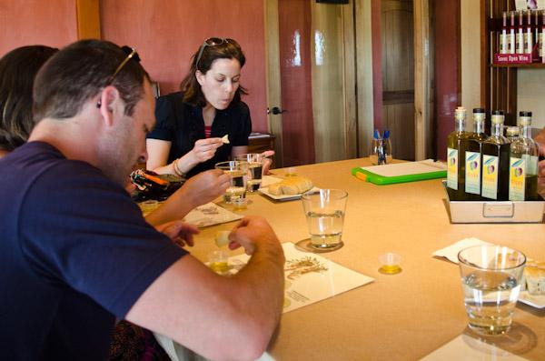 Olive oil tasting in Paso Robles, CA | Kiler Ridge Olive Oil Farm