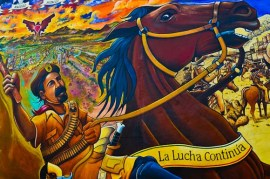 Mural art + photos of Chicano Park San Diego