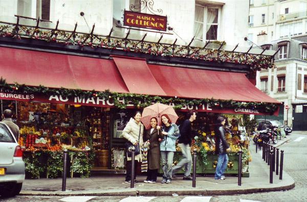 Collignon's Market, Paris - From the Film Amelie