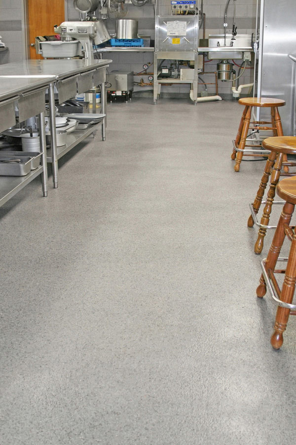 commercial kitchen flooring amish table healthy hygienic commerical restaurant epoxy floor