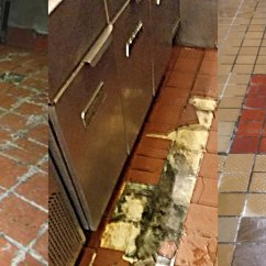 Commercial Kitchen Tile Pantry Organization Flooring Vs Everlast Epoxy