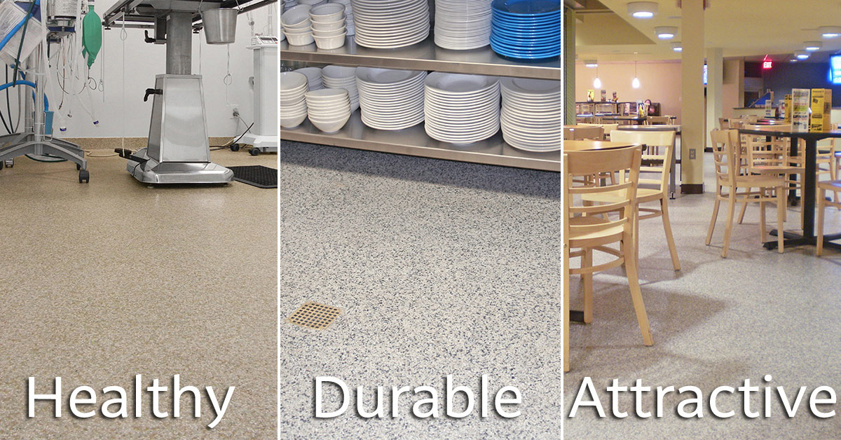 commercial kitchen flooring epoxy unfinished base cabinets contact everlast systems with questions about ...