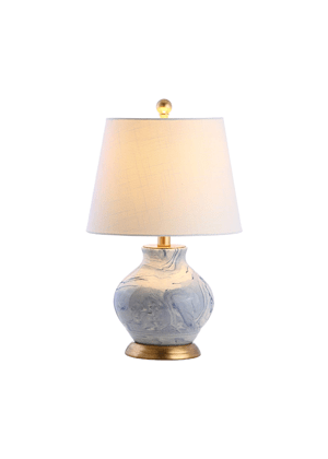 blue marble table lamp amazon girls room
