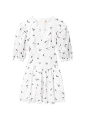 white embroidered floral dress rebecca taylor la vie brookie