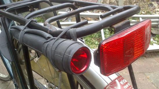 Diy Bicycle Flashlight Mount
