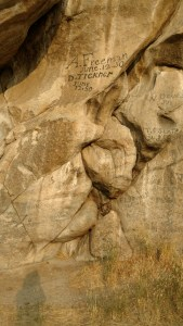 Emigrant Signatures at City of Rocks National Reserve