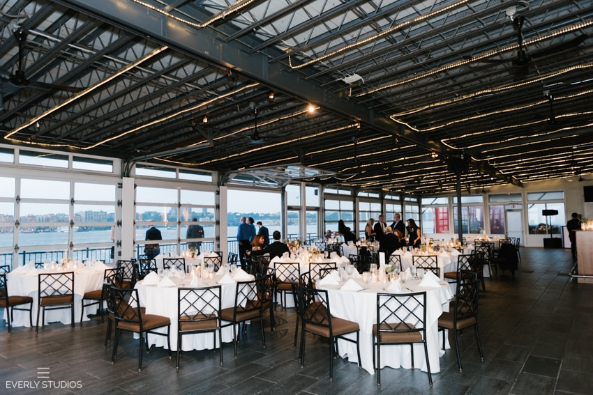 Chelsea Piers Sunset Terrace Wedding Sarah And Dev New