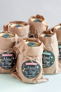 3 Easy Baby Shower Favor Ideas - Evermine Occasions