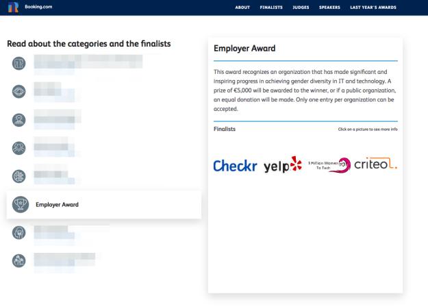 Tech Playmaker Awards 2019 Employer Award