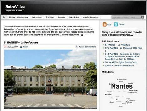 Nantes hier et aujourd'hui