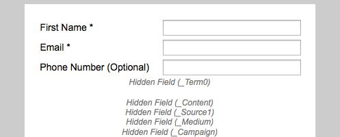 Hidden Fields and Normal Fields