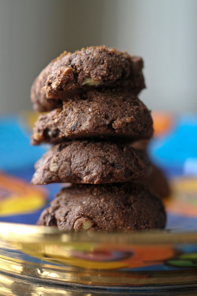 Chocolate Chip Oatmeal Cookies Cocoa Powder
